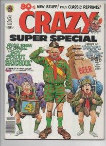 CRAZY #85 Magazine, VF/NM, Obnoxio the Clown, Jack Kirby, 1973 1982, Marvel