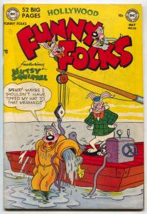 Hollywood Funny Folks #34 1951- Nutsy Squirrel- VF