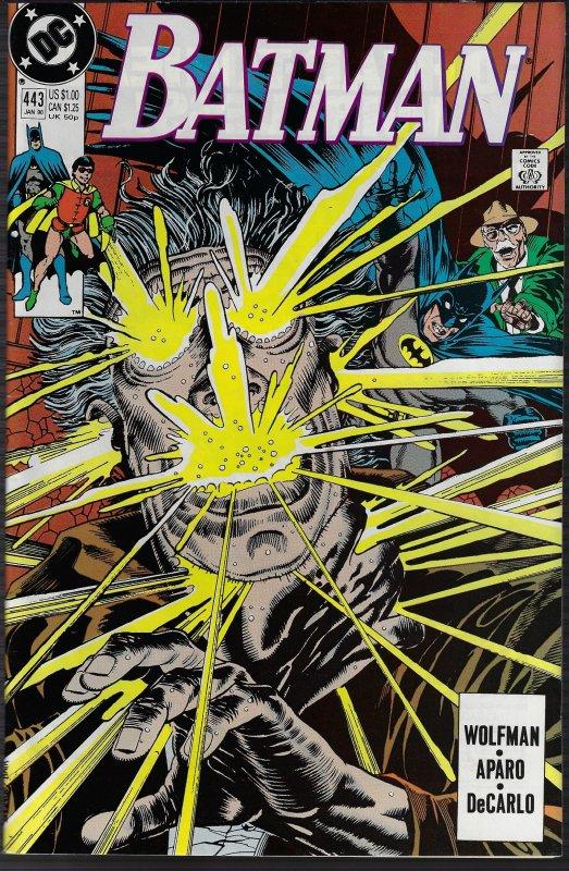 Batman #443 (DC, 1990) NM
