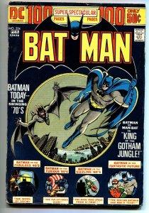 BATMAN #254 1974-DC-MAN-BAT-100 PAGE SUPER SPECTACULAR