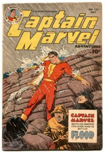 Captain Marvel Adventures #132 1952- restored VG+
