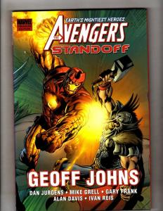 Standoff Avengers Geoff Johns Thor HARDCOVER Marvel Comics Graphic Novel J330