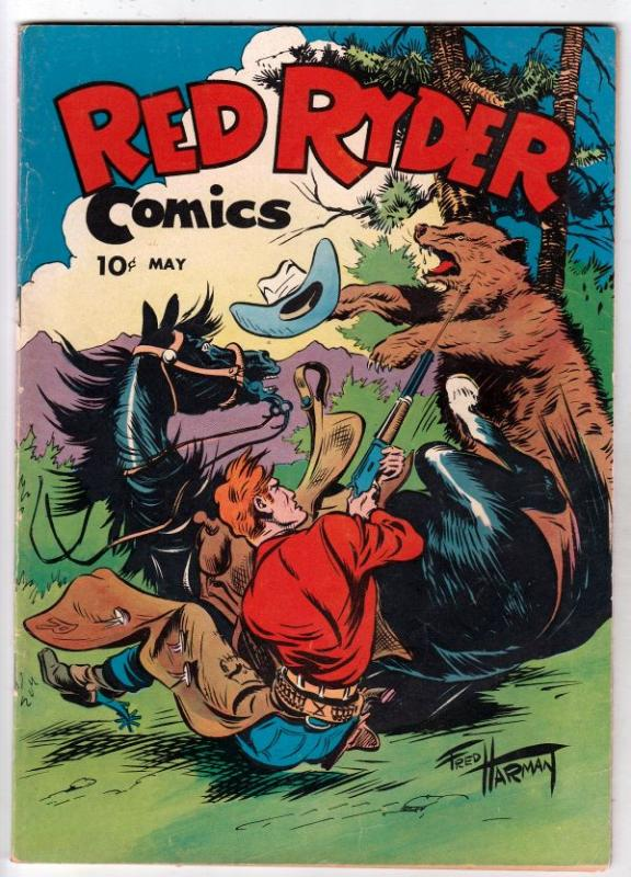 Red Ryder Comics #34 (May-46) FN Mid-Grade Red Ryder