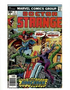 Lot of 10 Doctor Strange Marvel Comic Books #21 22 23 24 25 26 27 28 29 30 GK18
