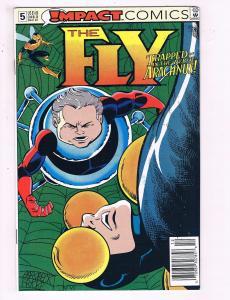 The Fly #5 VF Impact Comics Comic Book DE19
