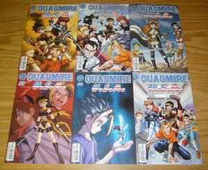 Quagmire U.S.A. vol. 2 #1-6 VF/NM complete series - ben dunn - ninja high school