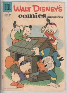 Comics and Stories, Walt Disney's #236 (May-60) FN Mid-Grade Donald Duck, Hue...