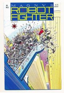 Magnus Robot Fighter (1991 Valiant) #2 VF