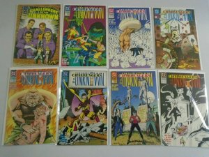 Challengers of the Unknown set #1-8 8.0 VF (1991 2nd DC Series)