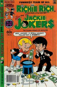 Richie Rich & Jackie Jokers #47 VG; Harvey   low grade comic - save on shipping