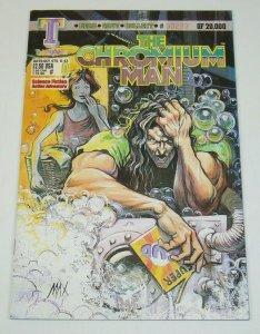 The Chromium Man #0 - numbered 233 of 20,000 - Triumphant Comics