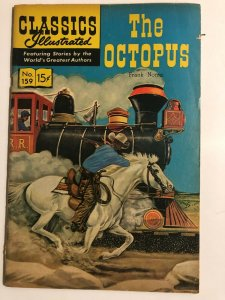 CLASSICS ILLUSTRATED 159 The Octopus Norris HRN 159 (FIRST EDITION) VG