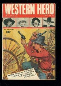 WESTERN HERO #78 1949-TOM MIX-MONTE HALE-GABBY-HOPPY VG-