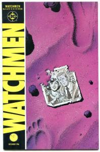 WATCHMEN #4 1986-DAVID GIBBONS-ALAN MOORE-DC COMICS nm-