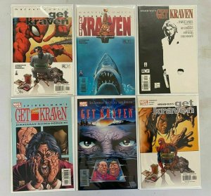 Spider-Man Get Kraven set from:#1-6 all 6 different books 8.0 VF (2002 to 2003)