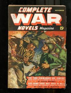 COMPLETE WAR PULP #2-NOV-1942-ALLEN ANDERSON COVER-WW 2 VG