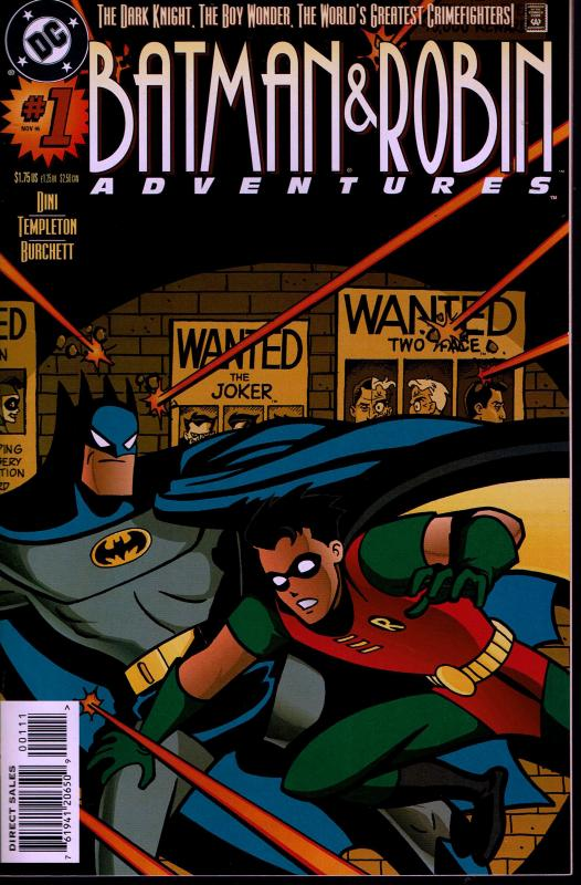 Batman & Robin Adventures #1 - NM -