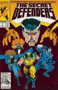Secret Defenders #1 VF/NM; Marvel | save on shipping - details inside