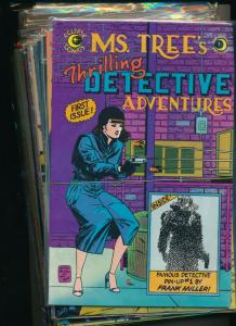 Eclipse Large Set!! Ms. TREE's Thrilling Detective Adventures #1-17  V/F+(PF859)