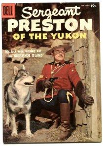 Sergeant Preston Of The Yukon #22 1957-Dell Silver Age VF