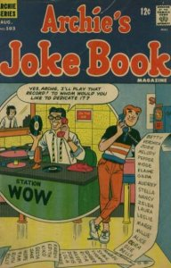 Archie's Joke Book Magazine #103, Good+ (Stock photo)
