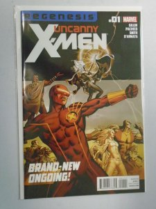 Uncanny X-Men #1 8.0 VF (2012 2nd Series)