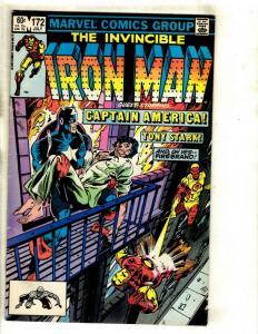 10 Invincible Iron Man Marvel Comics 172 173 174 175 176 178 180 181 182 + NP12