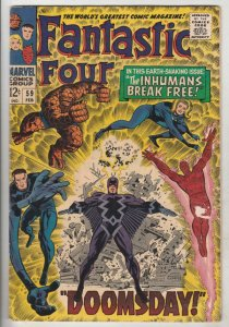 Fantastic Four #59 (Feb-67) NM- High-Grade Fantastic Four, Mr. Fantastic (Ree...