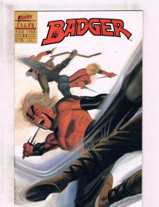 Lot of 9 Badger First Comic Books # 32 33 34 35 36 37 38 39 40 WT5