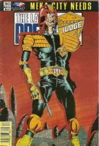 Law of Dredd, The #30 VF/NM; Fleetway Quality   save on shipping - details insid