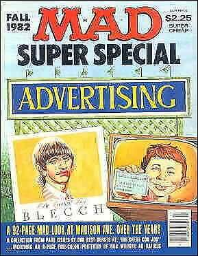 Mad Super Special #40 VG; E.C   low grade comic - save on shipping - details ins