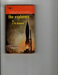 3 Books The Explorers The Winds of Gath The Smell of Money Sci-Fi Mystery JK23