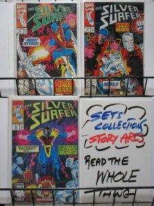 SILVER SURFER (1987) 76-78  JACK OF HEARTS / NEBULA