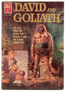David and Goliath- Four Color Comics #1205 1961- Dell comics G