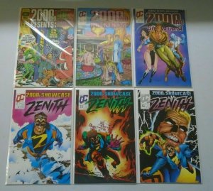 2000 AD Presents Showcase lot 11 different issues avg 8..0 VF (1987-90)