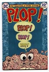 Plop! #3 1974- DC Weird Humor- Basil Wolverton- VF+