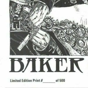 Baker Street Limited Edition Print VF/NM punk sherlock holmes - only 500 copies!