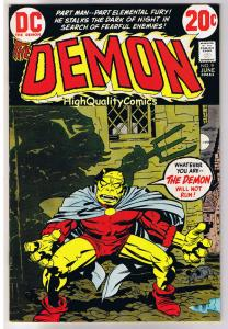 DEMON #9, VF, Jack Kirby, 4th World, Farley Fairfax, 1972, more JK in store