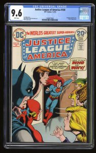 Justice League Of America #109 CGC NM+ 9.6 White Pages