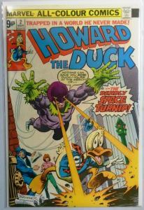 Howard the Duck (1st Series) #2, U.K Version 6.0/FN (1976)