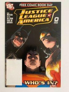 Justice League of America #0 Free Comic book day  (DC Comics) NM