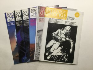 Science Fiction Chronicle 96 97 98 99 100 104 Magazine Lot Vg 4.0 Algol Press