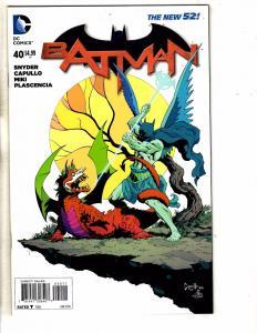 Batman # 40 NM 1st Print DC Comic Book New 52 Joker Robin Gotham Catwoman MK1
