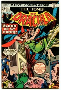 Tomb of Dracula #33 (7.0) 1975 Bronze Age Marvel ID00