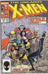 X-Men #219 (Jul-87) NM/NM- High-Grade X-Men