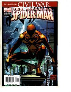 Lot Of 4 Amazing Spider-Man Marvel Comic Books # 530 (2) 531 533 Venom CR60