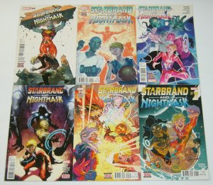 Starbrand and Nightmask #1-6 VF/NM complete series - marvel new universe set lot