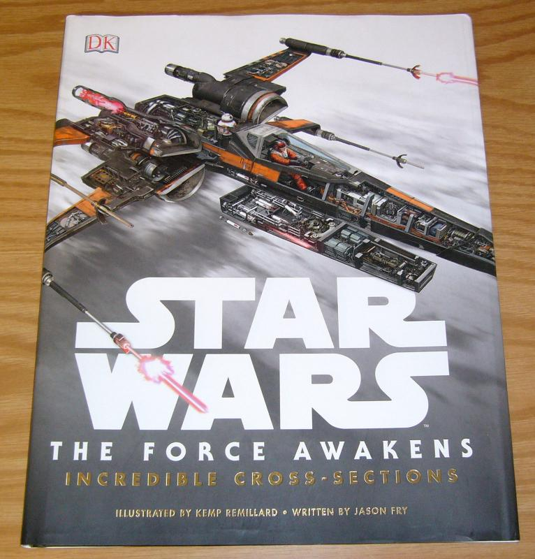 Star Wars: the Force Awakens - Incredible Cross-Sections HC VF/NM hardcover book