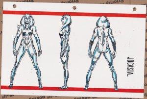 Official Handbook of the Marvel Universe Sheet- Jocasta