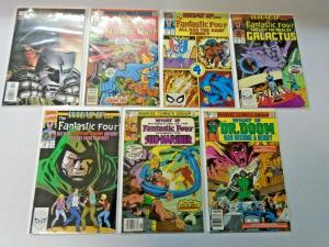 What If lot Fantastic Four all 13 different books average 8.0 VF (years vary)